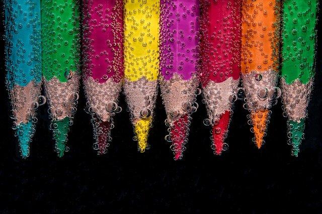 סוגי הצבעים השונים